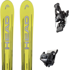 comparer et trouver le meilleur prix du ski Head Monster 98 ti black/yellow + tyrolia attack 13 gw brake 95 a solid black sur Sportadvice